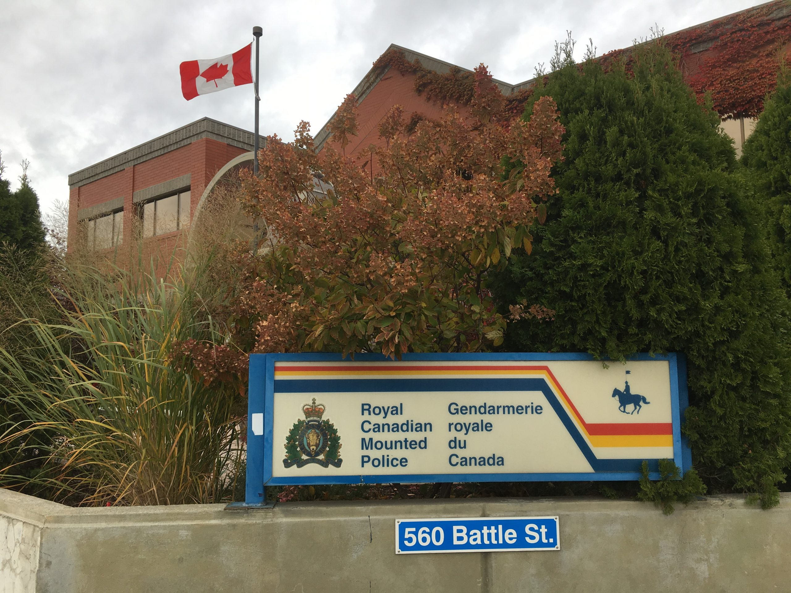 One man's attempt to run after stealing a vehicle, thwarted by Kamloops RCMP