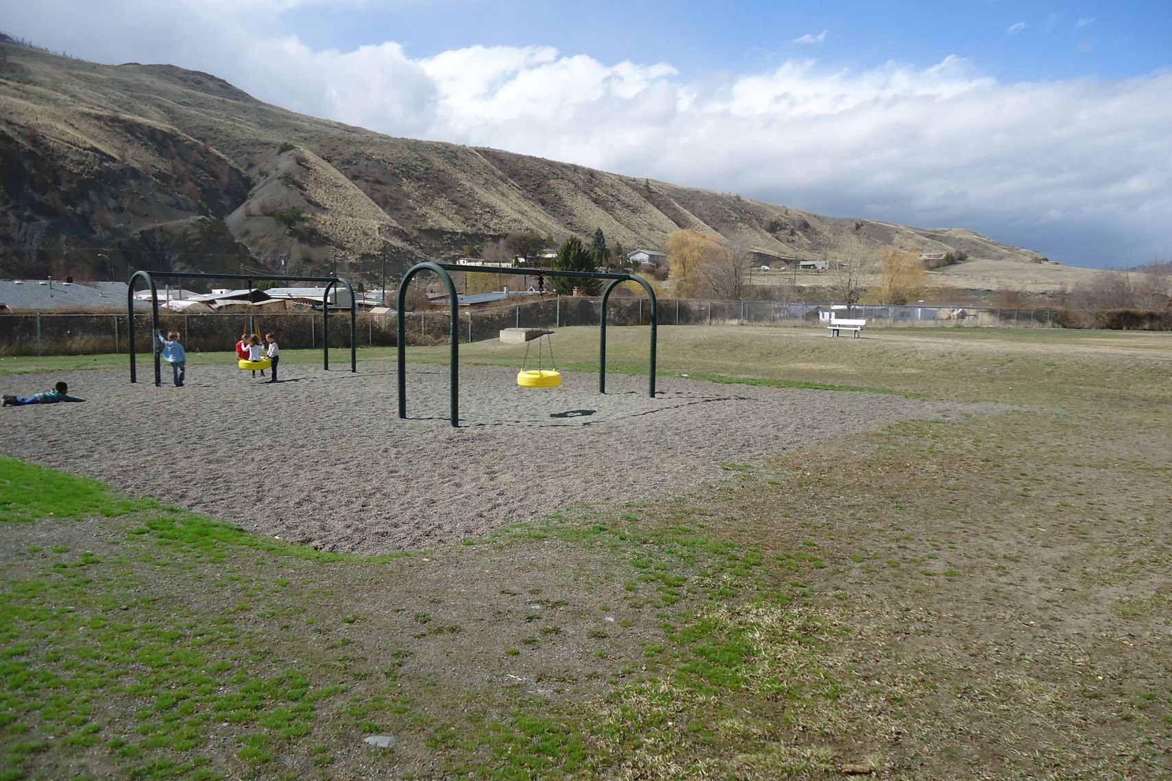 Cache Creek Elementary students will come back to school this fall with a new playground