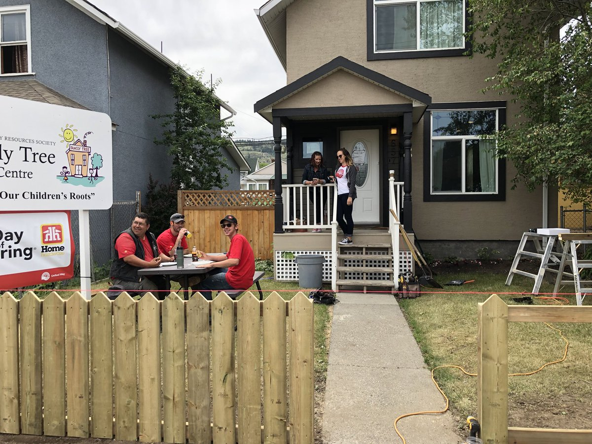 Safety boost for Kamloops Family Tree Centre with new fencing in place