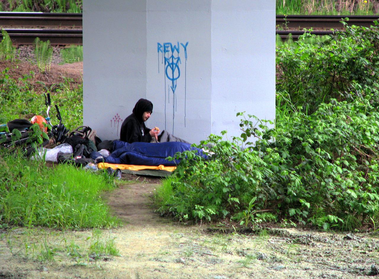 The number of homeless in Kamloops has increased