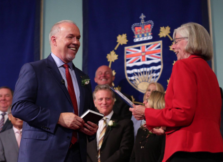 Premier worries about impacts to B.C. as the United States launches a trade war