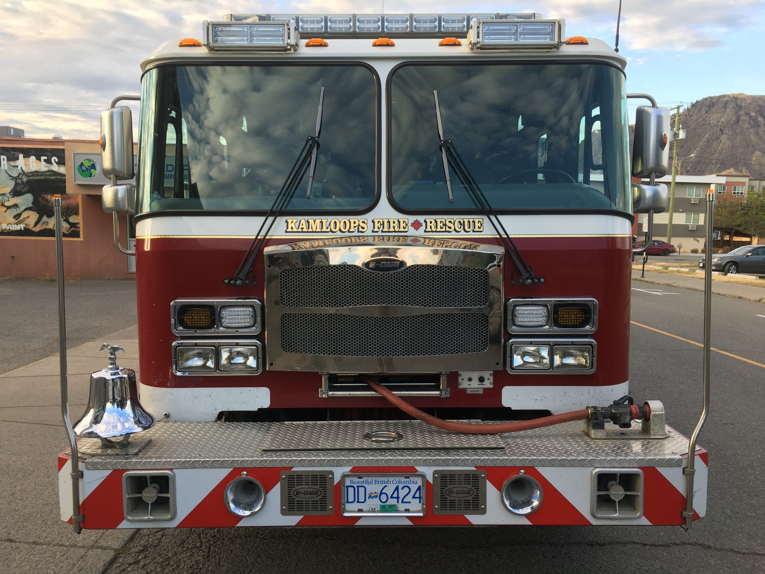 Firefighters respond to another fire in the Lac du Bois grasslands