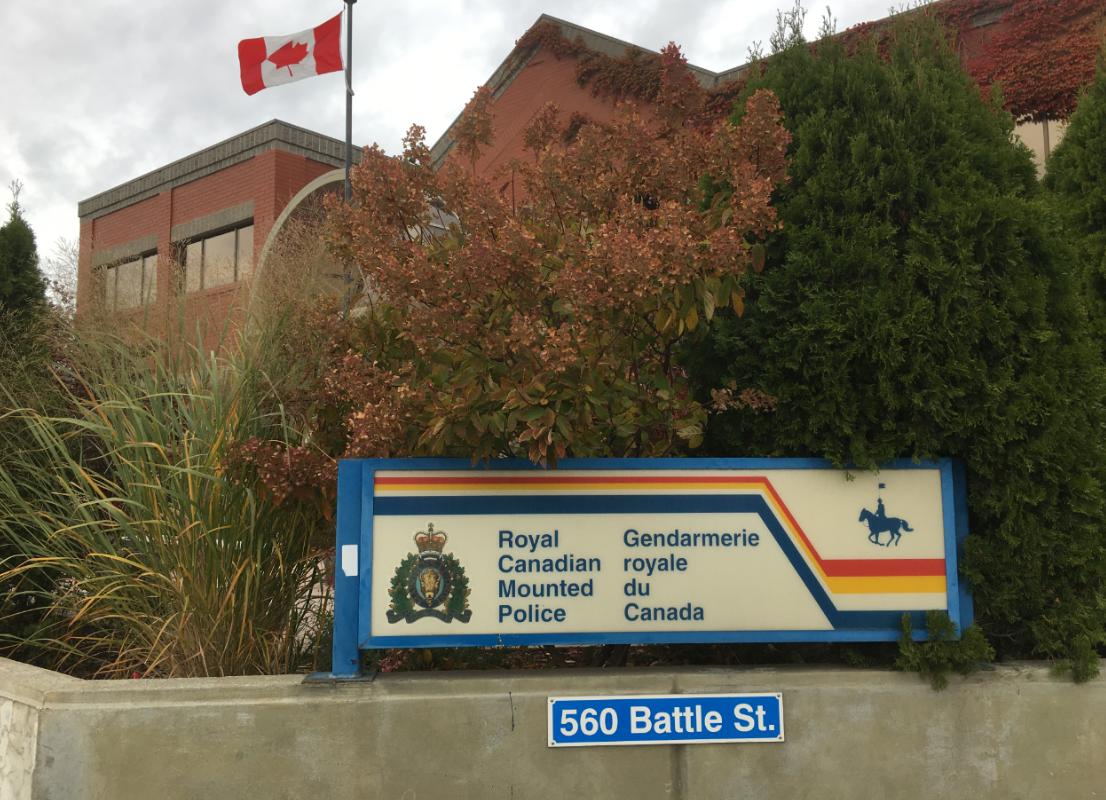 RCMP arrest man breaching probation in downtown Kamloops