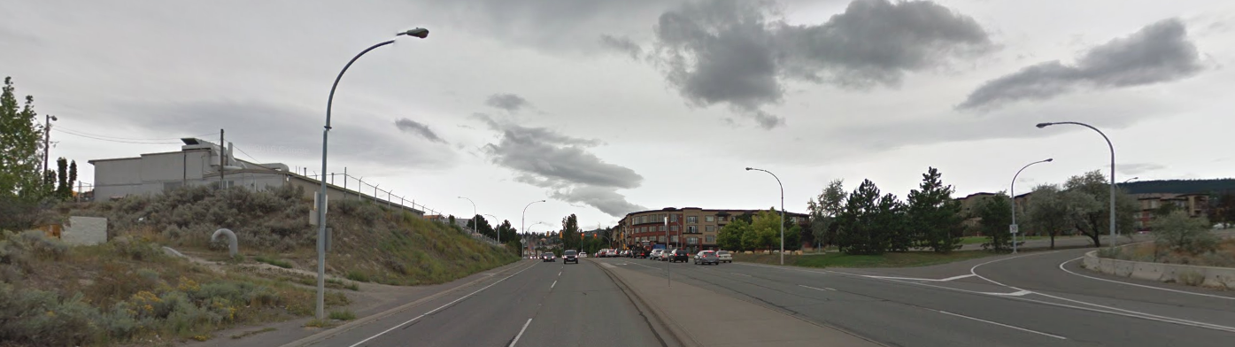 Possibility of an overpass across the Summit connector to TRU is back on the front burner