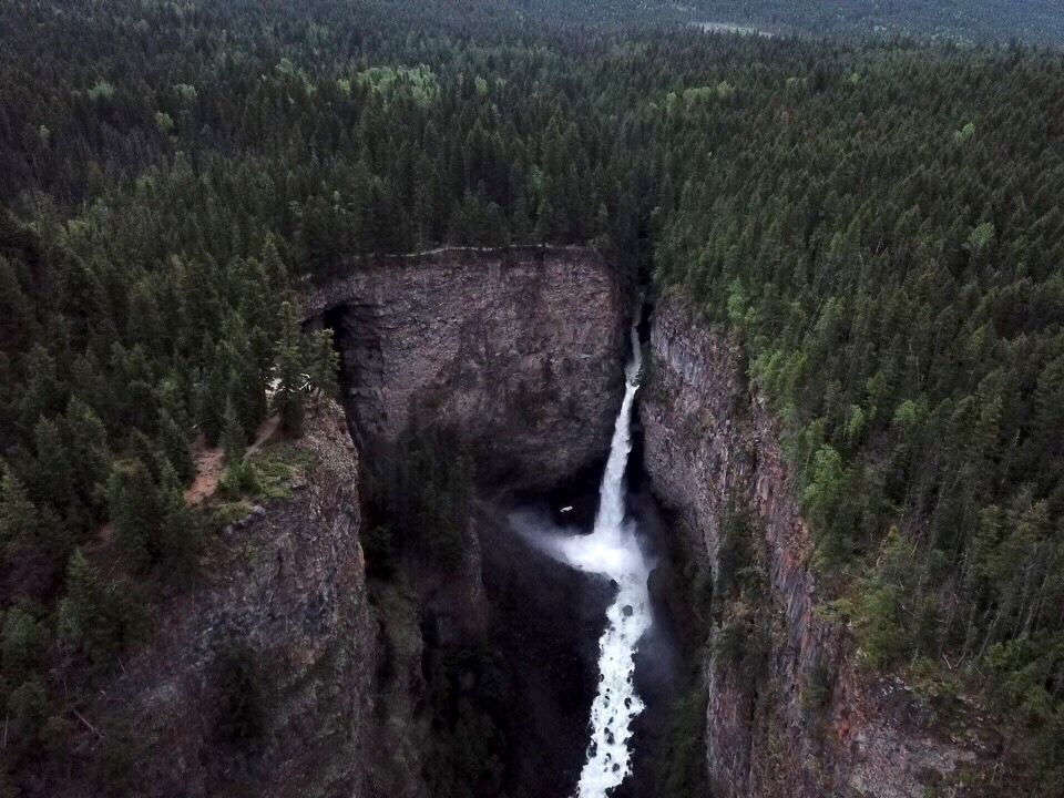 Kamloops woman falls to her death in Wells Gray Provincial Park