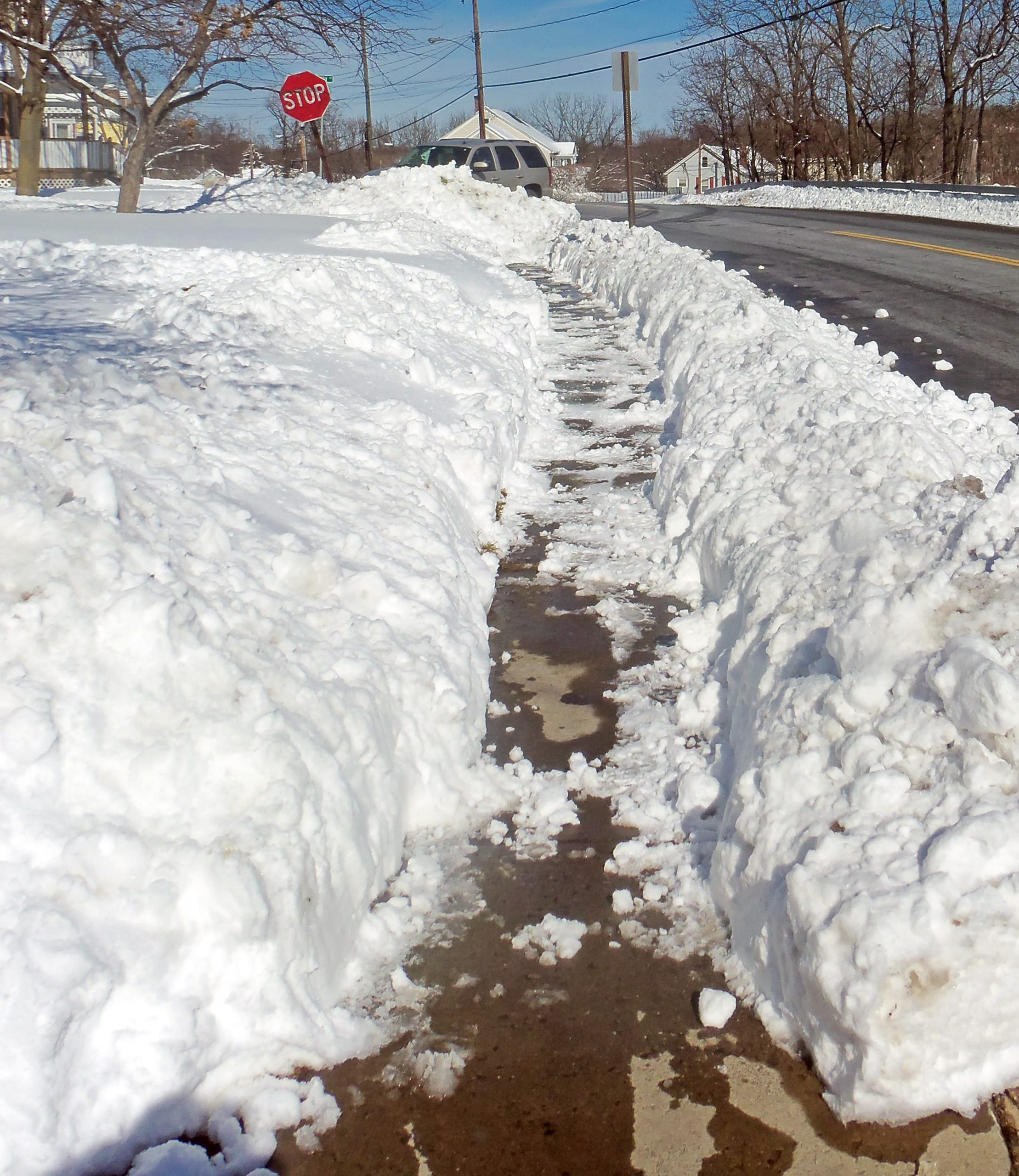 A Kamloops councillor wants to give a certain aspect of snow removal another look