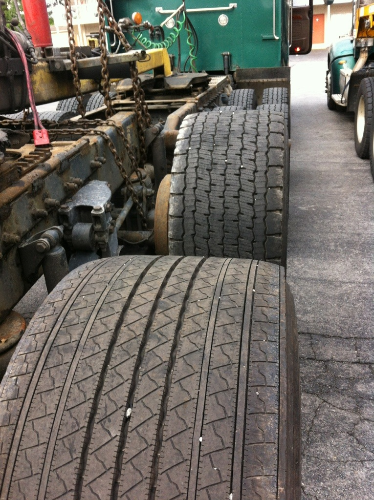 "Restrictions on ""super single"" tires eased to help reduce trucking carbon footprint"