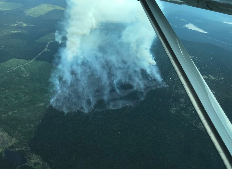 Updated - Wildfire activity explodes across the province