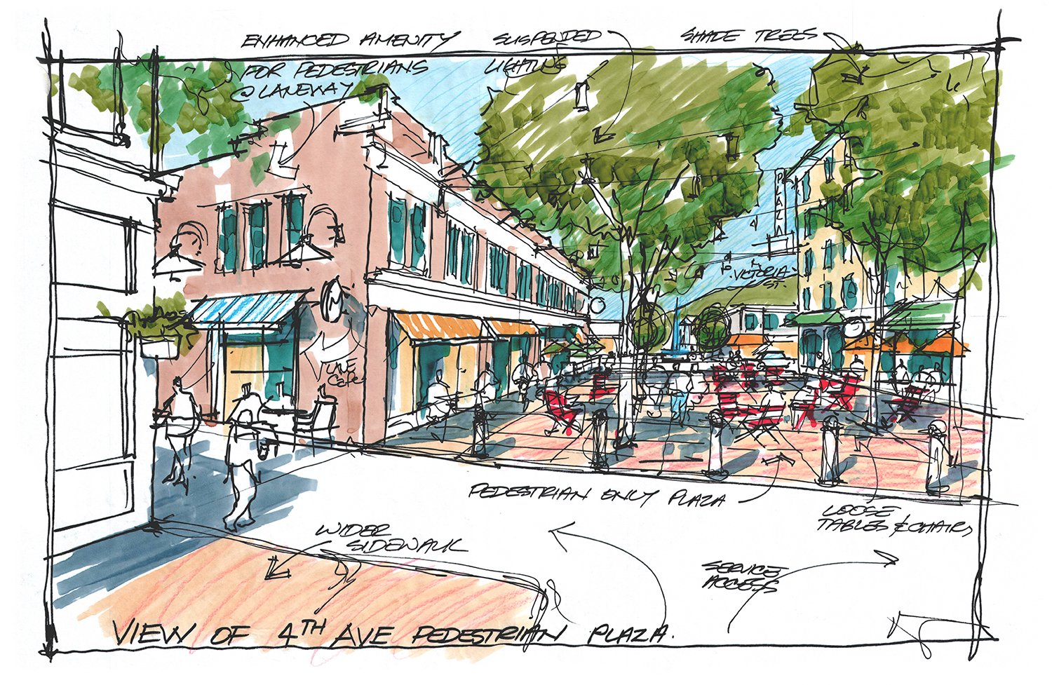 City looking to give downtown revitalization plan a test run