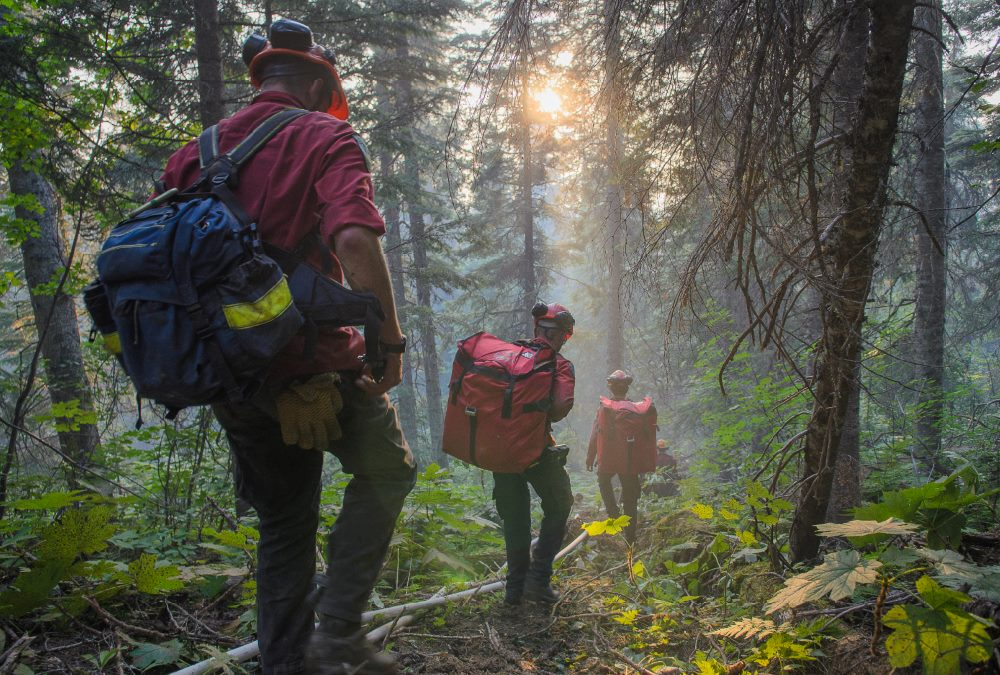 B.C's Chief Fire Information Officer says the weather forecast is concerning, with a handful of new fires popping up