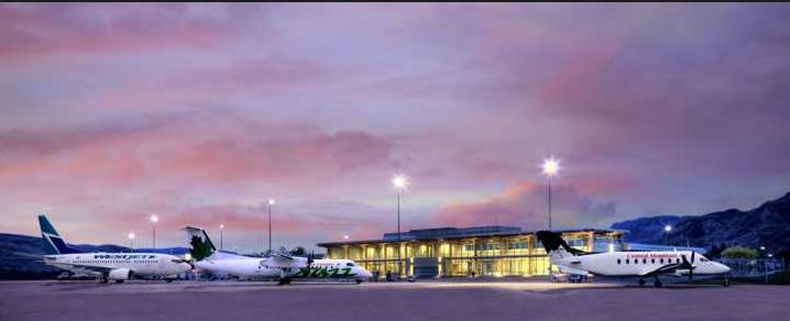 Kamloops airport passenger traffic soars