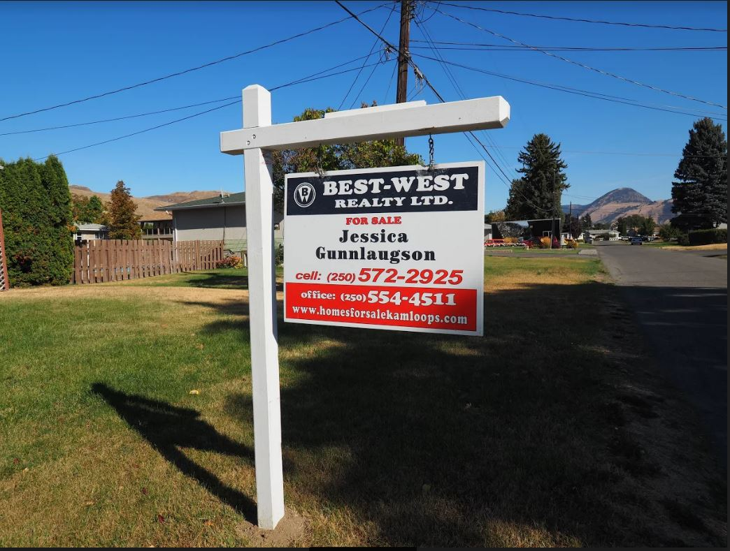 Despite a drop in home sales last month, Kamloops is still ahead of the rest of the province