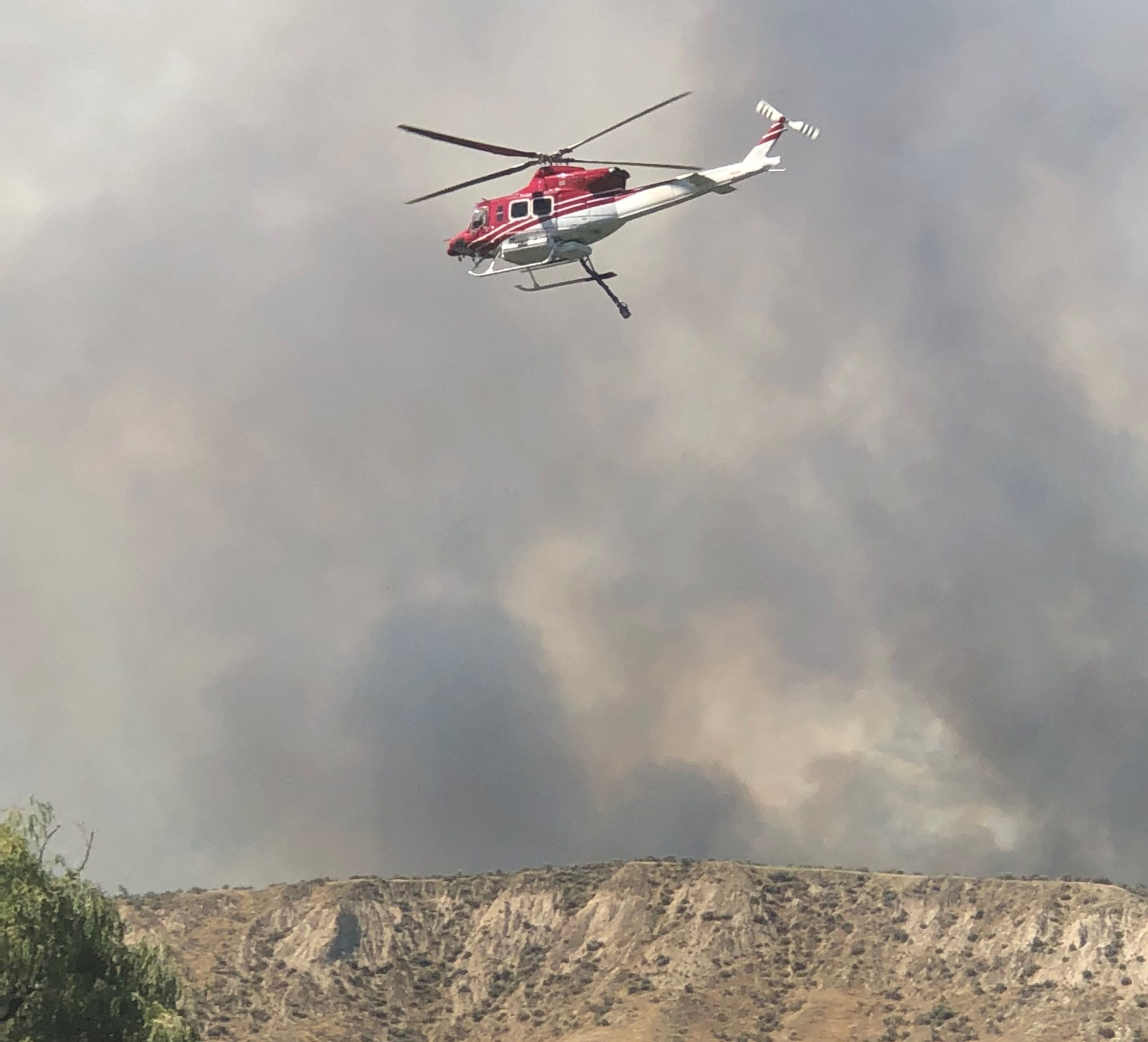 Shuswap Road wildfire now 500 hectares