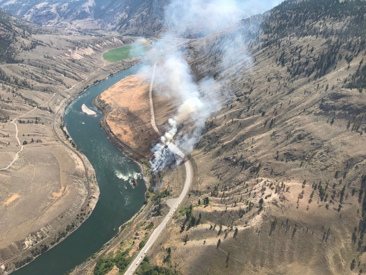 Update: B.C Wildfire Service making progress on Spences Bridge blaze
