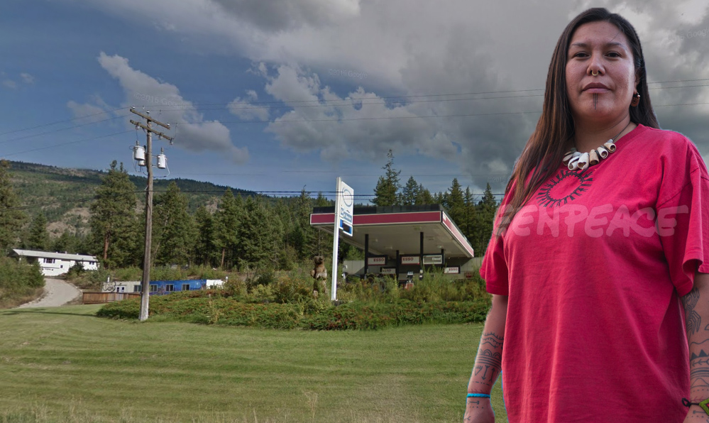 Pro-pipeline group targets Indigenous woman who led recent protest near Clearwater
