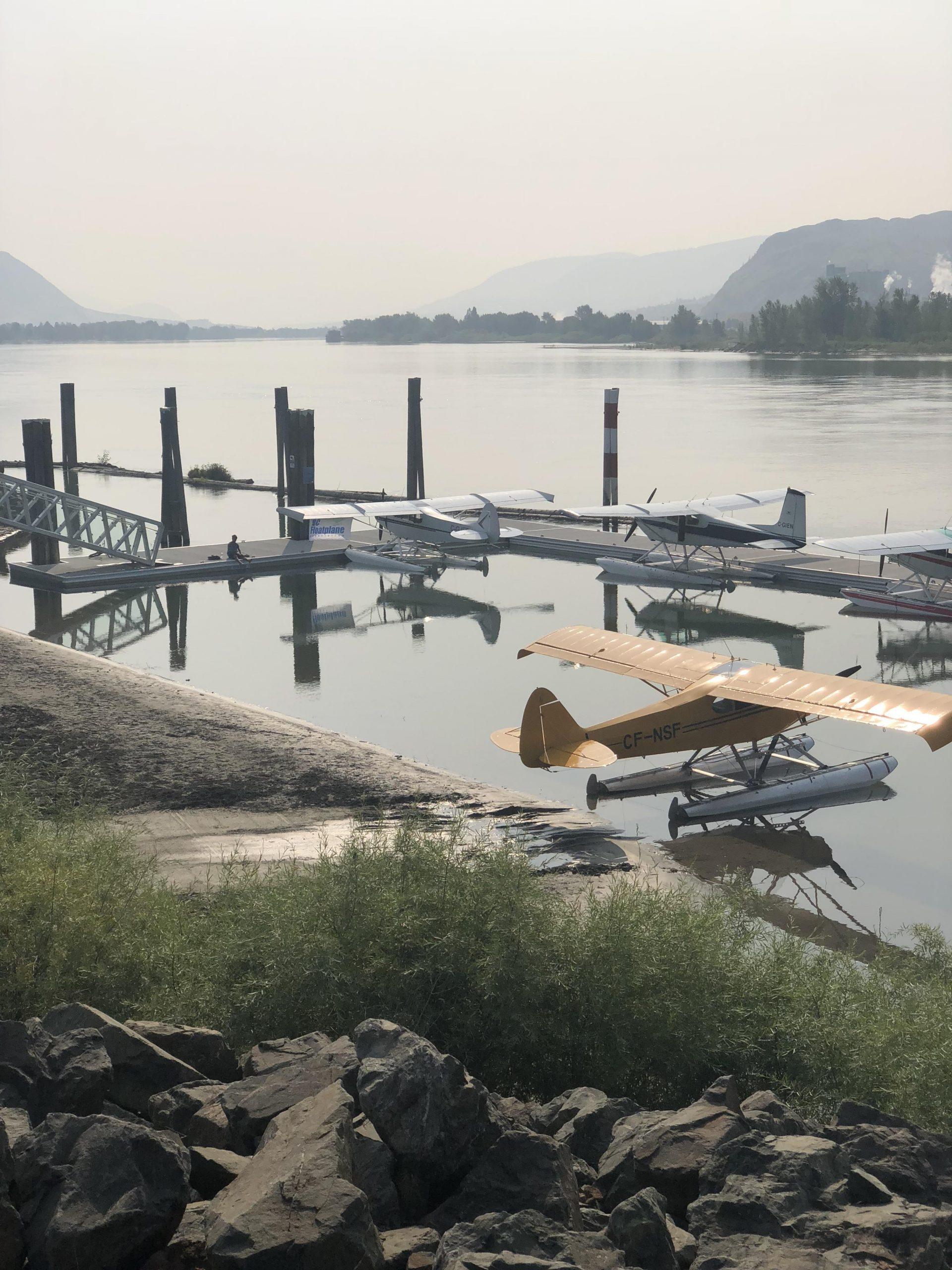 Renovated Kamloops Airport float plane dock re-opens