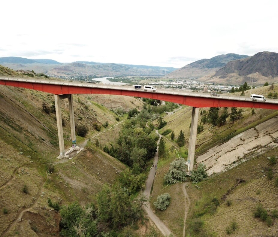 Woman from Vernon killed on Peterson Creek Bridge in Kamloops