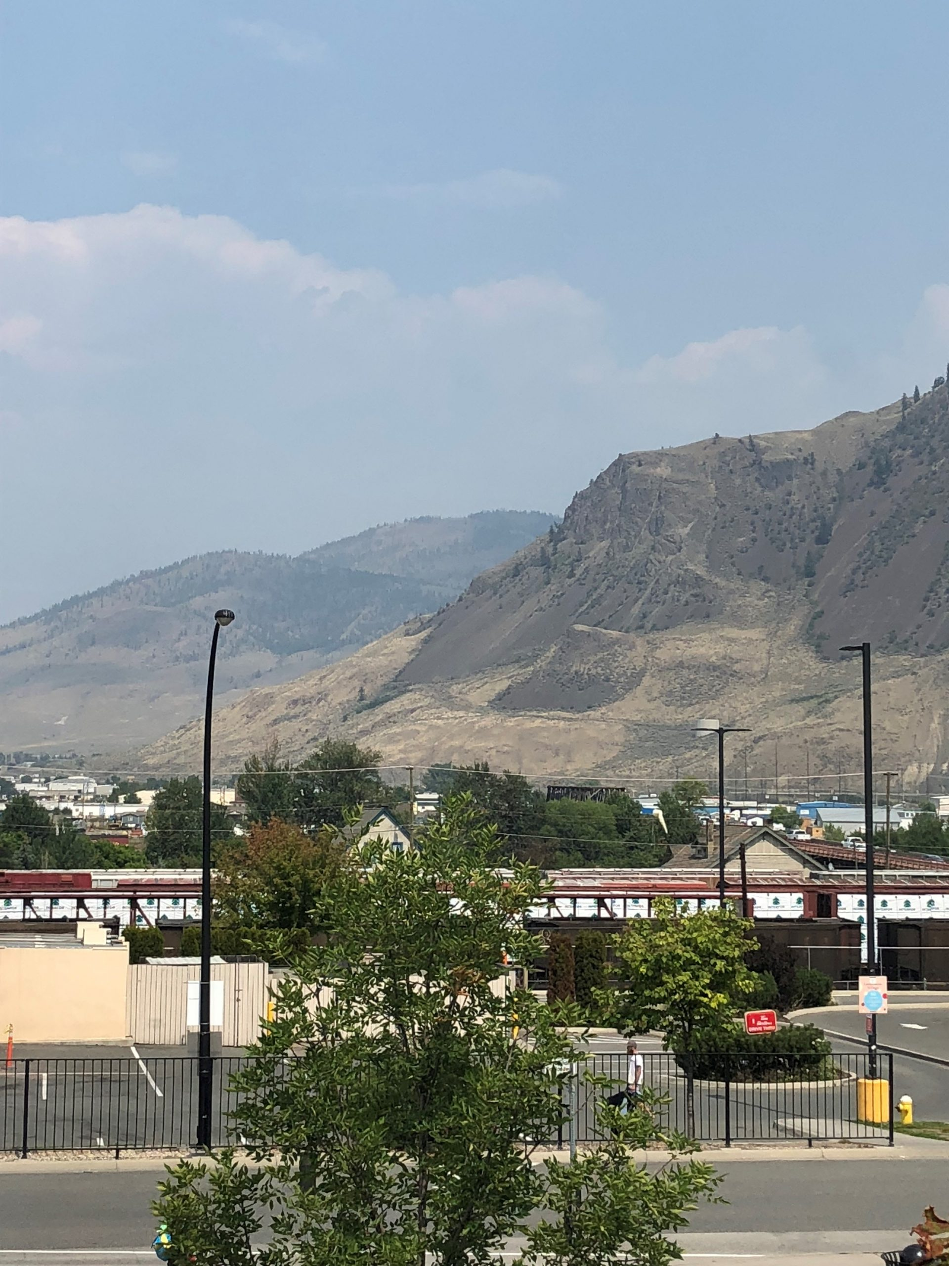 Smoke in Kamloops could be gone by the weekend