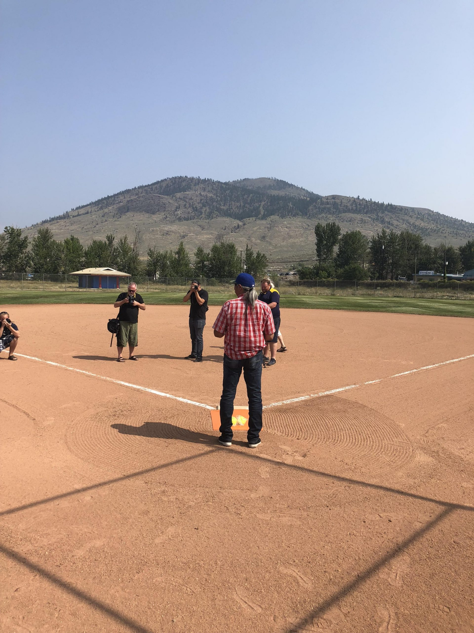 Tyee Park Ball Diamond re-opens