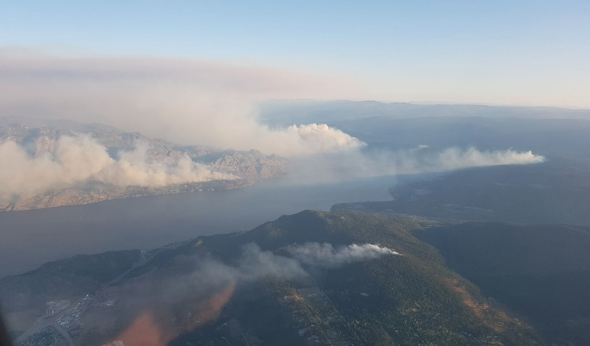 Updated: Lightning caused fires spark evacuation alerts and orders
