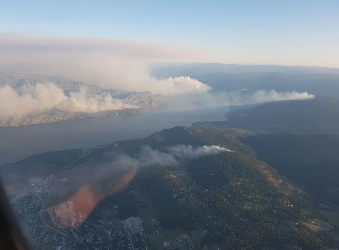 Okanagan wildfires top concern list for B.C. Wildfire Service