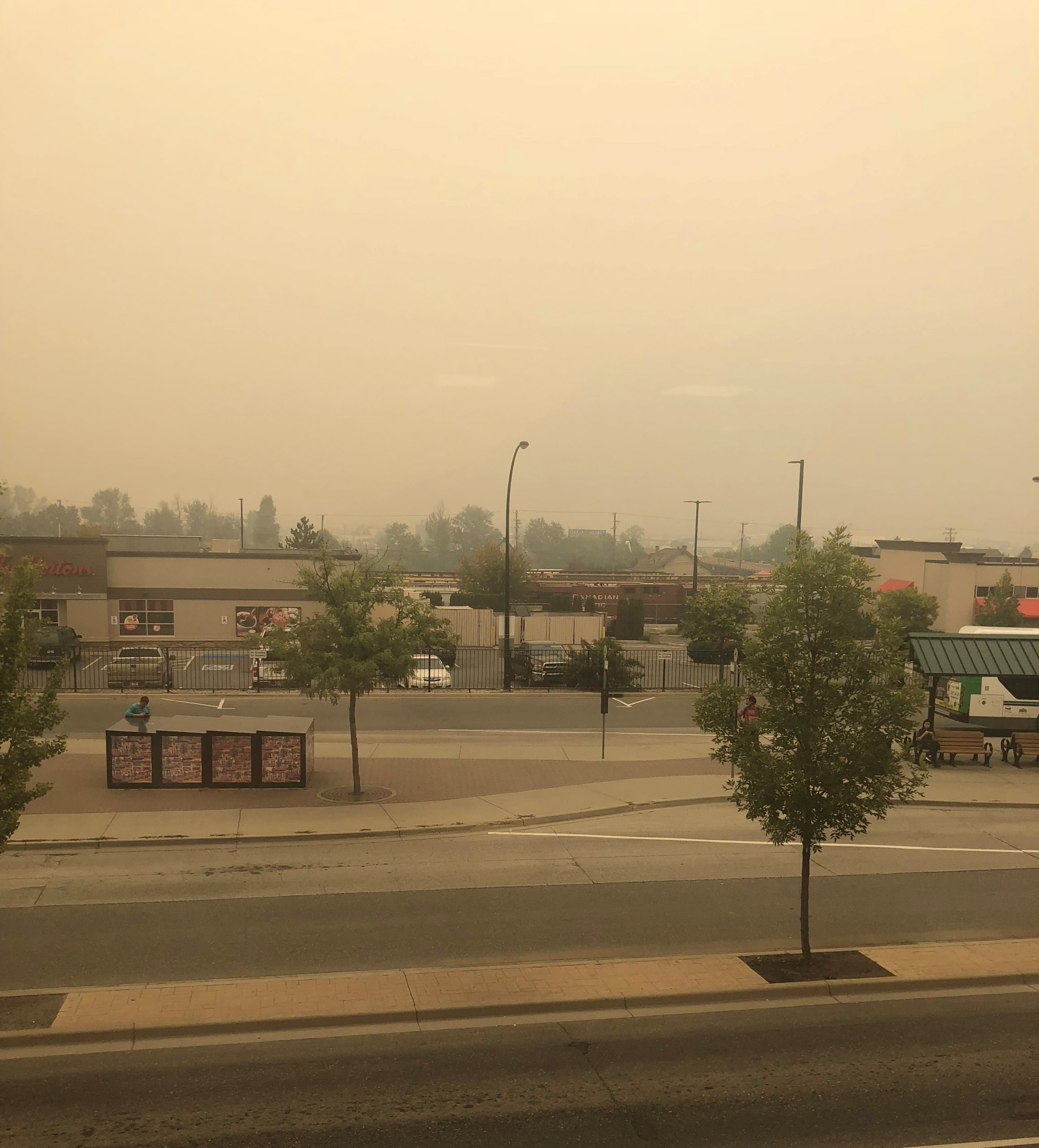 Air quality getting worse and worse as smoke continues to roll in to Kamloops