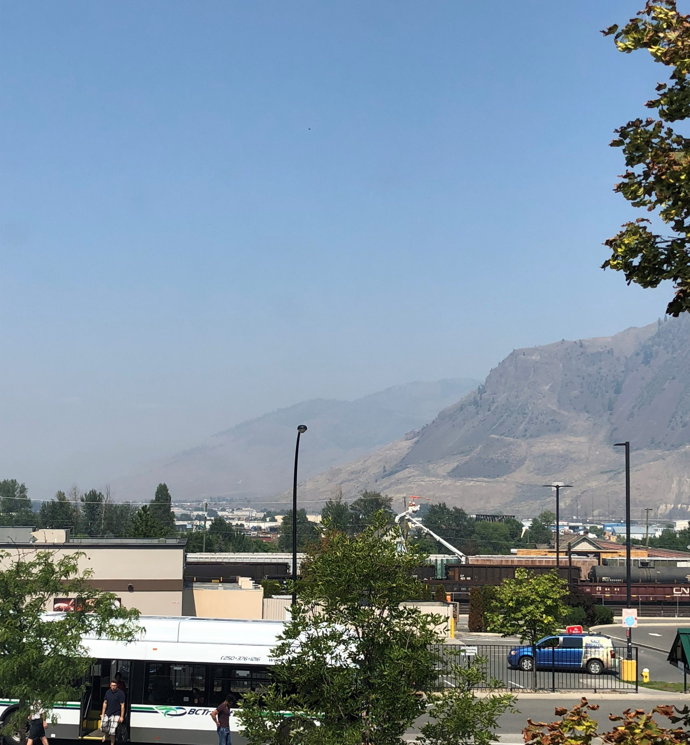Air quality slightly improves in Kamloops