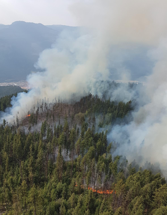 Lightning strikes continue to give firefighters fits