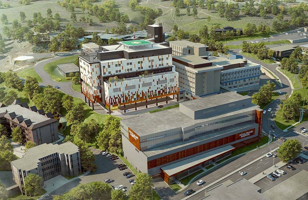 RIH Patient Care Tower Expansion Project ahead of schedule