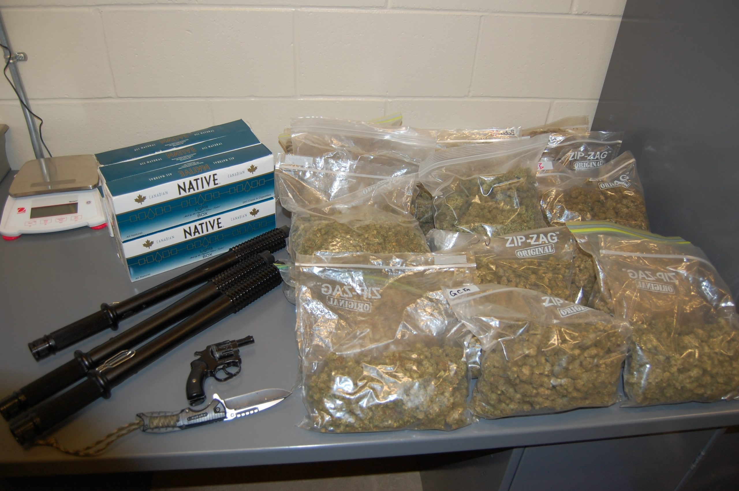 Traffic stop leads to big haul for Revelstoke RCMP