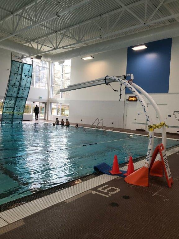 Leaking Roof Fixed at Westsyde Pool