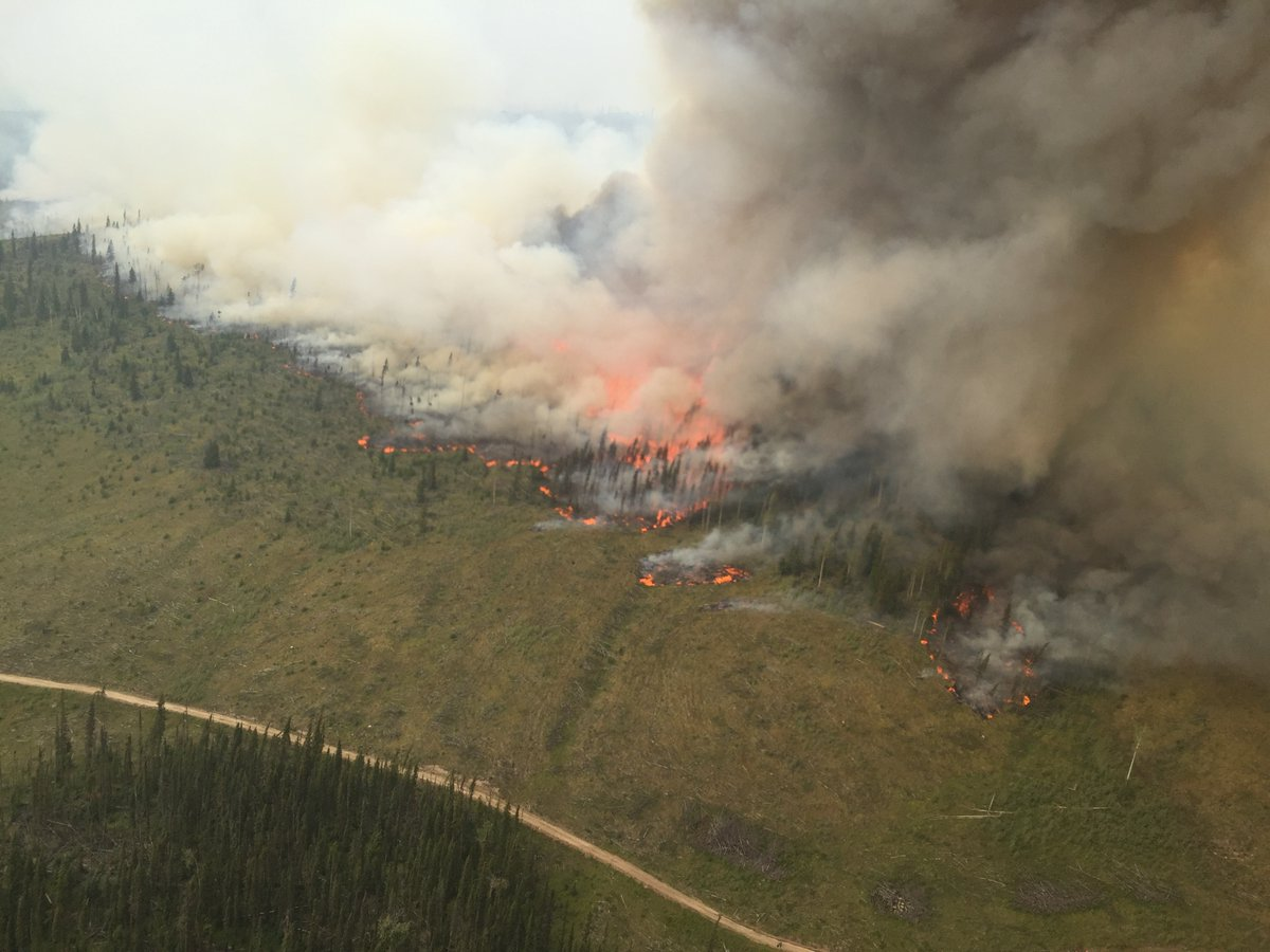 Provincial wildfire situation remains grim