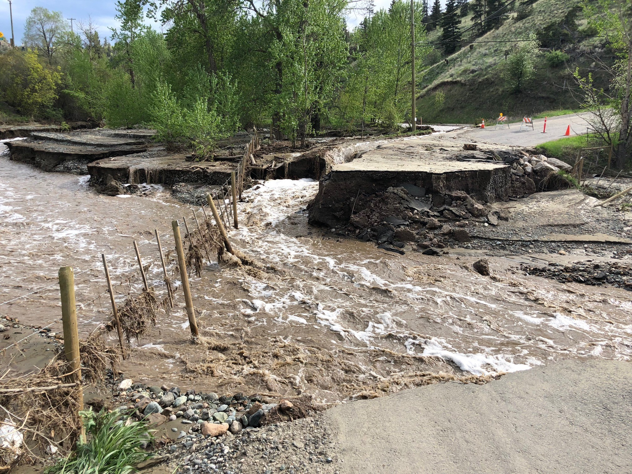 TNRD Director voicing concerns about future Cherry Creek flooding
