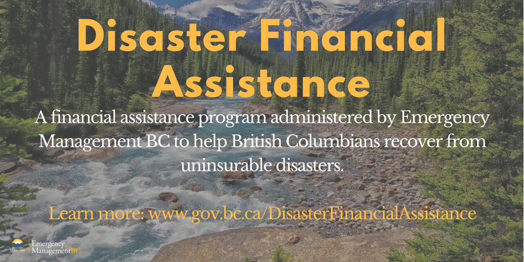Recovery funding available to those impacted by recent landslides in the TNRD