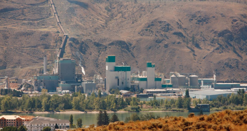 Domtar's Kamloops Mill Impacted by Pipeline Explosion