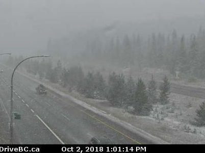 Winter weather coming for Coquihalla highway