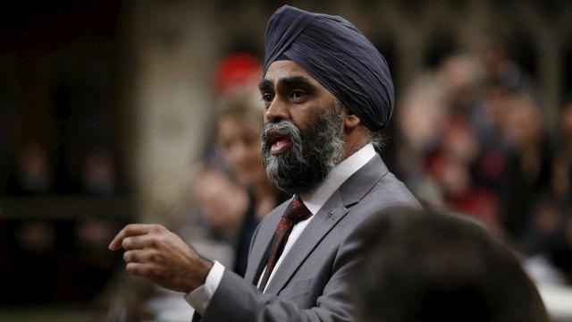 """Canada's Defence minister calls the Jamal Khashoggi case """"troubling"""""""