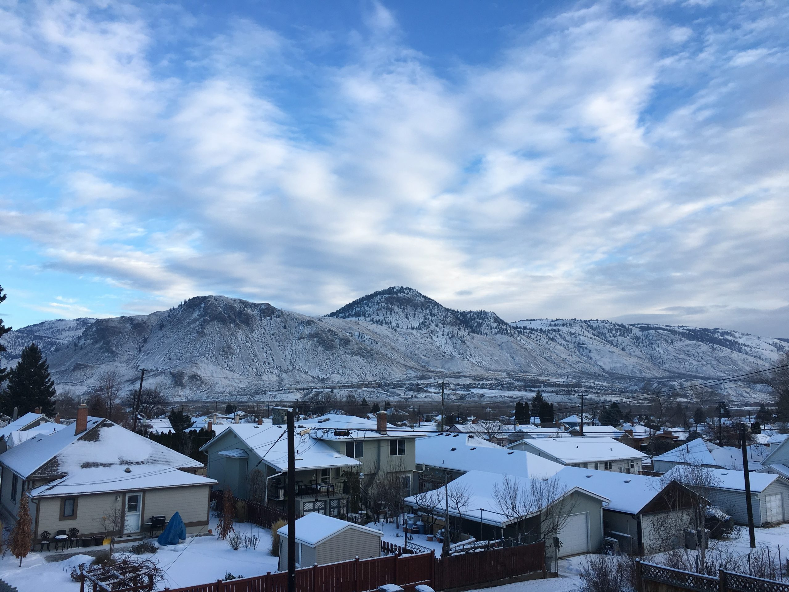 Some snow to accumulate in Kamloops late Thursday night