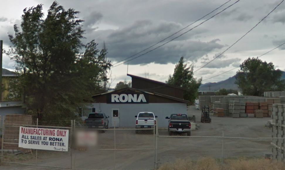 Rona Kamloops Block Plant Slated for Closure