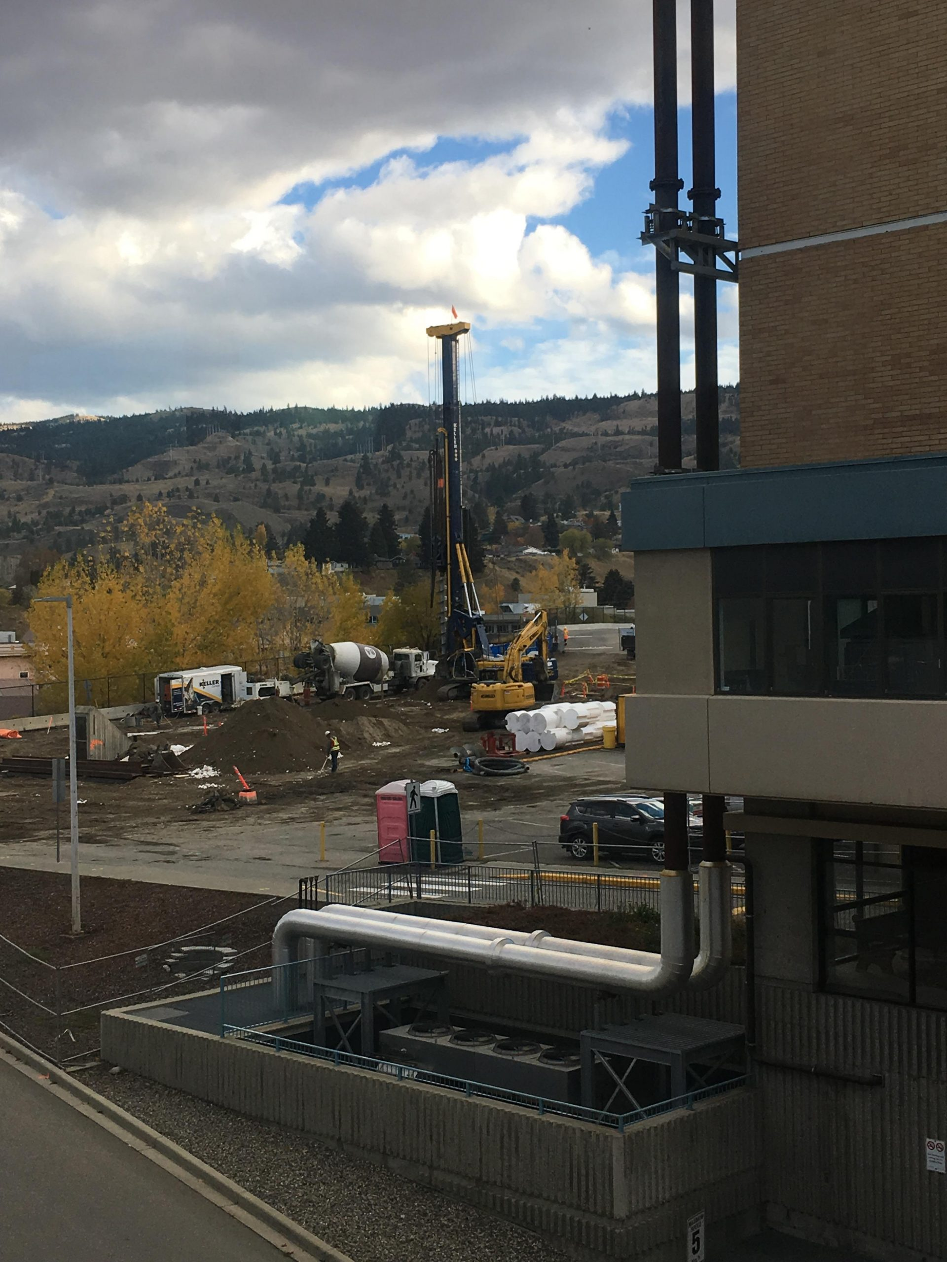 Patient Care Tower Construction Underway at Royal Inland Hospital