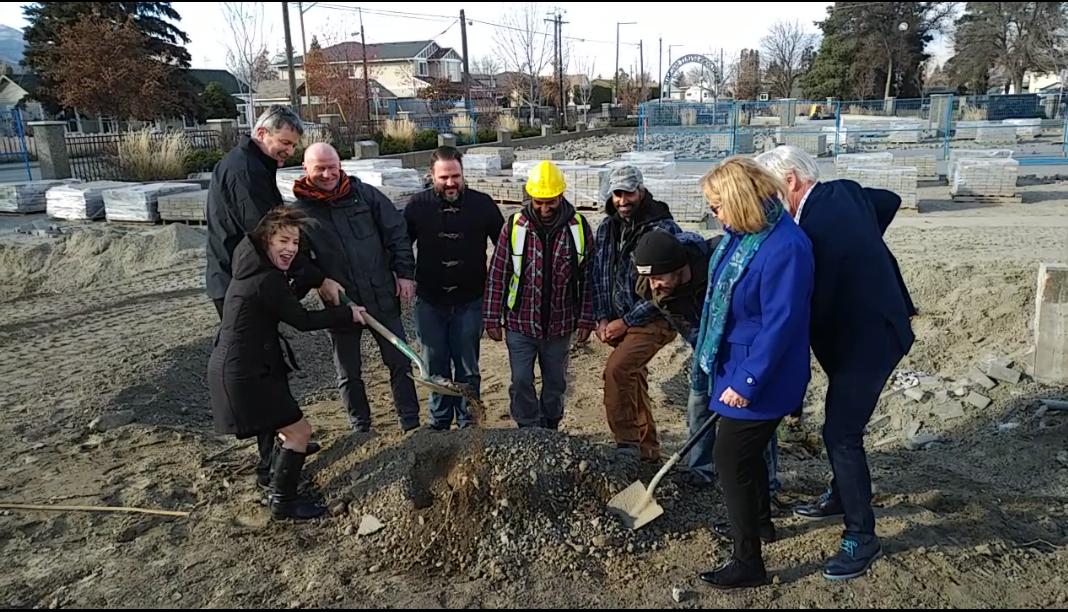 Groundbreaking Ceremony Held for Spirit Square Development