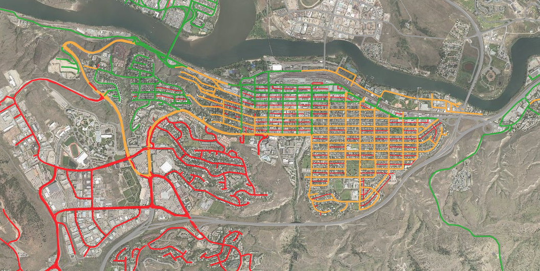 New map shows Kamloops residents how street sweeping is ...