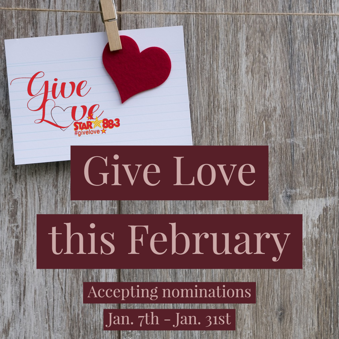 Give Love this February