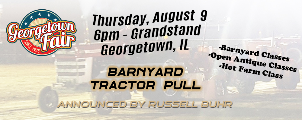 Getting Excited about the Georgetown Fair Barnyard Tractor Pull
