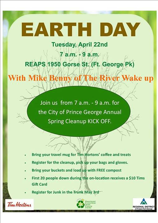 The Wake Up is on location for Earth Day