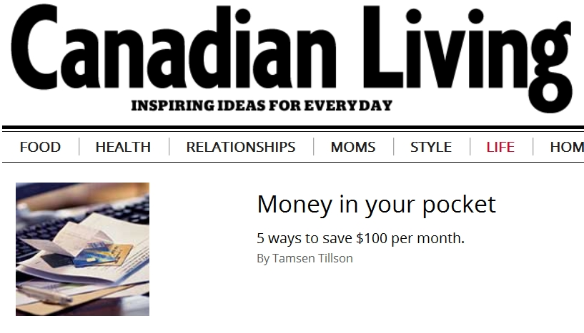 Five ways to save $100 a month - More Money