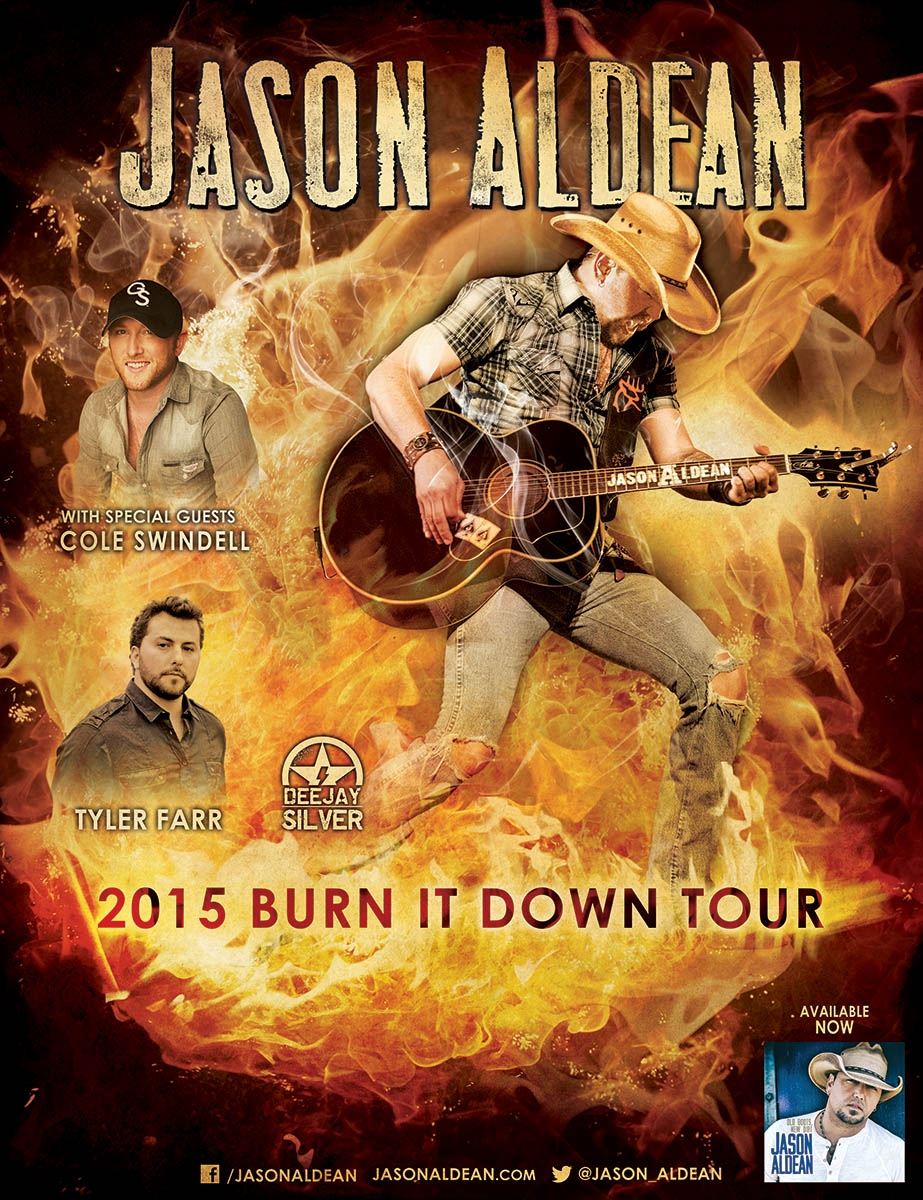 Jason Aldean in #CityofPG October 6th