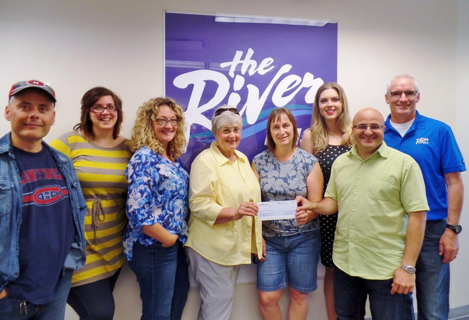 The 'River's Voice' Gives Back