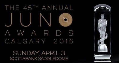 2016 Juno Nominations