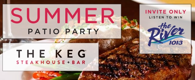 Summer Patio Parties at The Keg Steakhouse & Bar